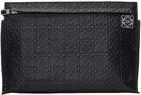 Loewe Black Anagram T Pouch