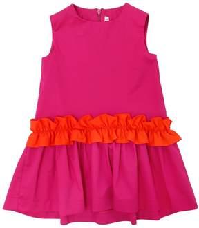 Il Gufo Stretch Cotton Poplin Dress