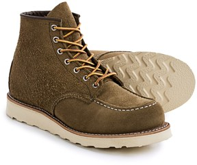 Red Wing Shoes Classic Moc Boots - Suede, Factory 2nds (For Men)