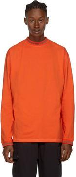 Acne Studios Orange Long Sleeve Greta T-Shirt