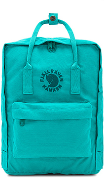 Fjallraven Re-Kanken in Turquoise.