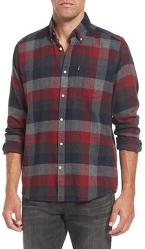 Barbour Men's Angus Tailored Fit Check Twill Shirt