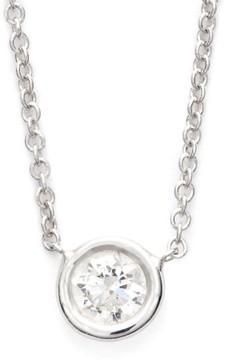 Bony Levy Women's Medium Diamond Solitaire Pendant Necklace (Limited Edition) (Nordstrom Exclusive)