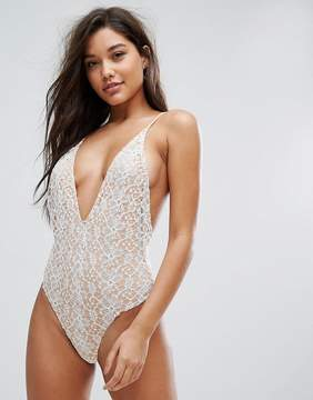 Fashion Union Lace Swimsuit