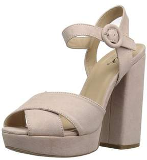 Qupid Women's Alisha-01 Heeled Sandal.