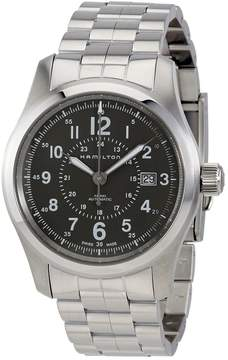 Hamilton Khaki Field Grey Dial Stainless Steel Automatic Men's Watch