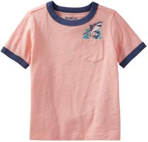 Osh Kosh Oshkosh Bgosh Toddler Boy Jawesome Shark Tours Shark Pocket Tee