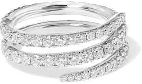 Anita Ko Coil 18-karat White Gold Diamond Ring