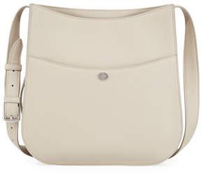 Loro Piana Fleur Large Leather Crossbody Bag