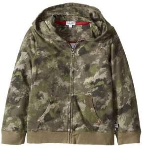 Splendid Littles Camo Hoodie Zip-Up Jacket (Toddler)