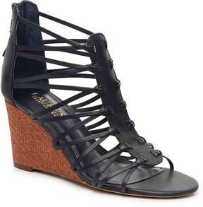 Lauren Ralph Lauren Women's Alexandrea Wedge Sandal