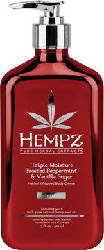 Hempz Frosted Peppermint & Vanilla Sugar Herbal Whipped Body Creme