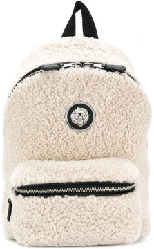 Versus shearling backpack