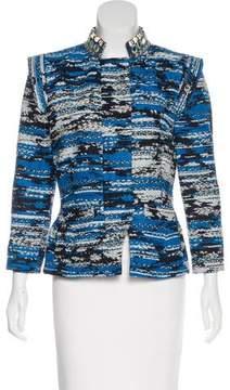 Matthew Williamson Zip-Up Knit Jacket
