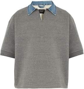 Fear Of God Denim-collar oversized polo shirt