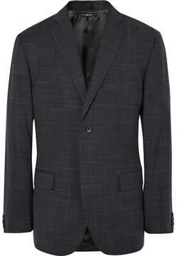 Issey Miyake Grey Shigoki Slim-Fit Wool Blazer