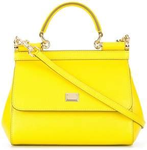 Dolce & Gabbana small Sicily shoulder bag - YELLOW & ORANGE - STYLE