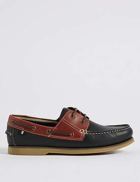 Marks and Spencer Leather Two Tone Lace-up Shoes