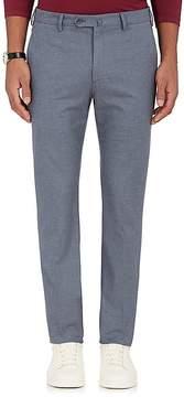 Loro Piana Men's Pantaflat Stretch-Cotton Flat-Front Trousers
