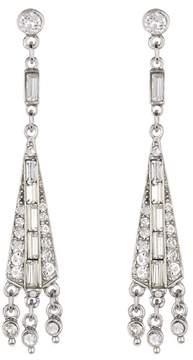 Ben-Amun Crystal Deco Chandelier Drop Earrings