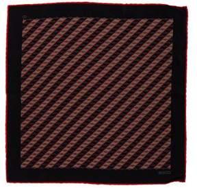Gucci Horsebit Striped Pocket Square