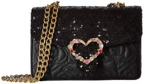 Betsey Johnson Quilted Shoulder Bag Shoulder Handbags