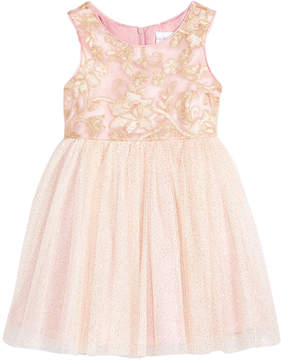 Sweet Heart Rose Rose Sparkle Dress, Little Girls (4-6X)