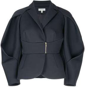 DELPOZO structured balloon sleeve jacket