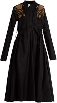Ashish Embroidered cotton dress