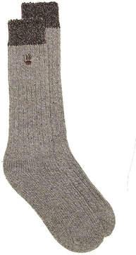 BearPaw Men's Marled Boot Socks