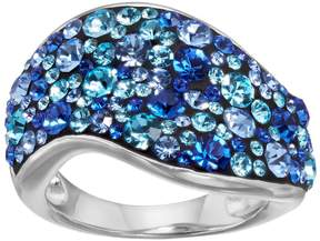 Confetti Crystal Wave Ring
