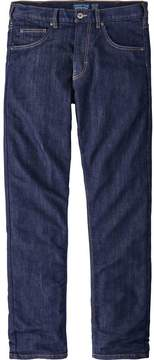 Patagonia Flannel Lined Performance Straight Fit Denim Pant - Men's