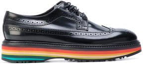 Paul Smith Grand Stripe platform brogues