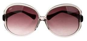 Tod's Gradient Oversize Sunglasses