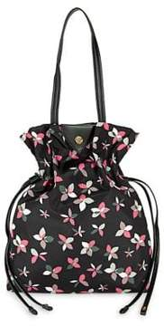 Anne Klein Toggle Floral Bucket Bag