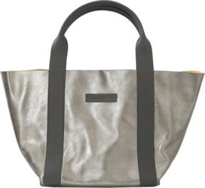 BRUNELLO CUCINELLI Metallic Suede Reversible Handbag