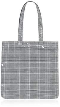 Forever 21 Glen Plaid Tote Bag