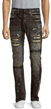 PRPS Distressed Faded Jeans
