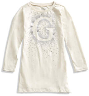 GUESS Long-Sleeve Star Dress (2-6x)