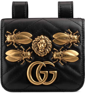 GG Marmont animal studs belt accessory