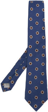 Canali spotted pattern tie