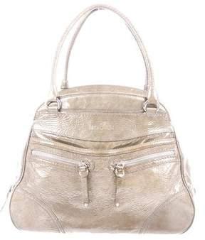 Hogan Patent Leather Handle Bag