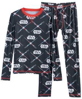 Cuddl Duds Boys 4-18 Star Wars 2-Piece Base Layer Set