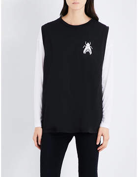 Aries Confused sleeveless cotton top