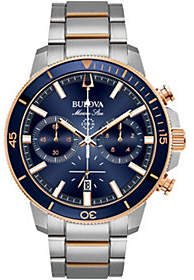 Bulova Men's Marine Star Blue Dial ChronographWatch