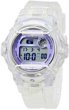 Casio Baby-G Transparent Resin Digital Ladies Watch