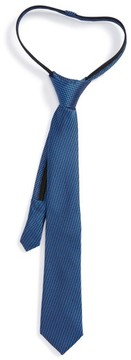 Nordstrom Boy's Textured Silk Zipper Tie