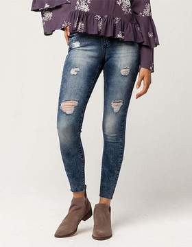 Celebrity Pink Destructed Ankle Womens Jeans
