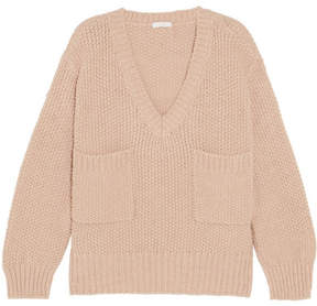 Chloé Oversized Knitted Sweater - Antique rose
