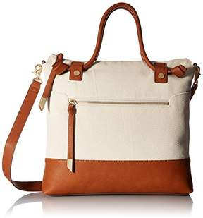 Foley + Corinna Coconut Island Zip Top Tote